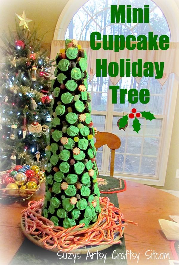 DIY Mini Cupcake Holiday Tree