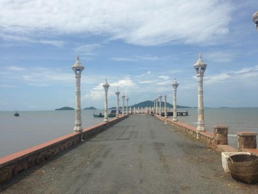 Kep Pier, Cambodia