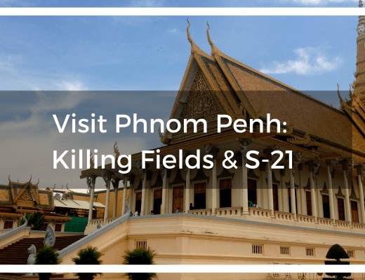 Text overlay of the Royal Palace in Phnom Penh