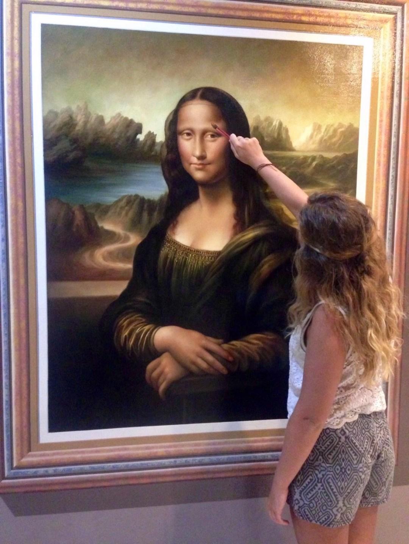 Mona Lisa - Art in Paradise