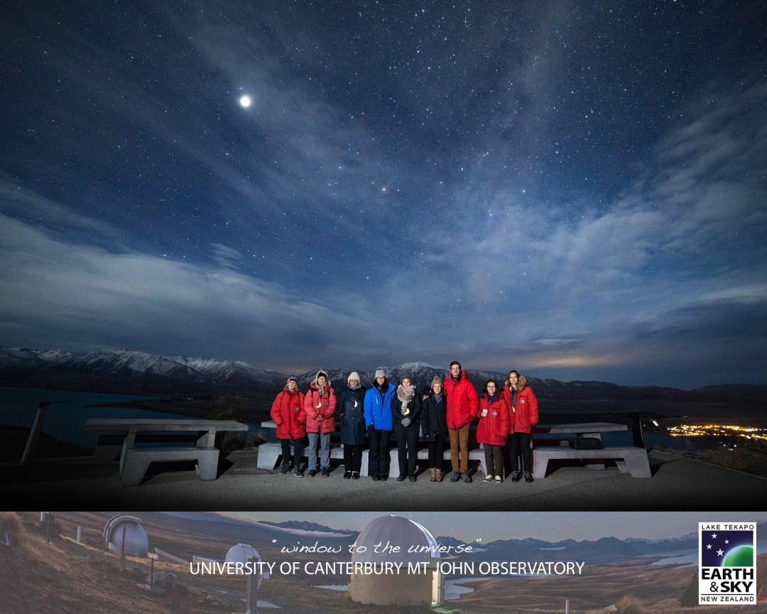 Earth & Sky Stargazing in Lake Tekapo - Mount John Observatory tour