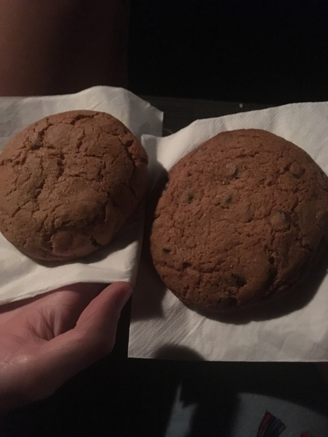 Giant cookies at Cinema Paradiso - best things to do in Wanaka