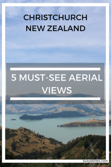 5 Best views in Christchurch New Zealand - Must-see aerial viewpoints
