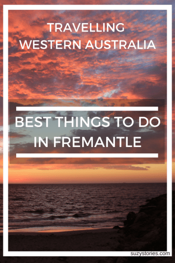 Best things to do in Fremantle Western Australia - Including a visit South Beach at sunset, exploring Fremantle Market, discovering Australia's maritime history, sampling delicious food, and more!