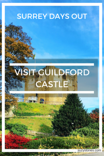 Surrey Countryside Days Out in autumn: Visit Guildford Castle