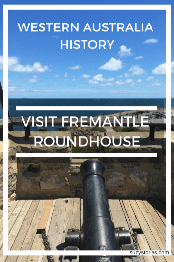 Best things to do in Fremantle Western Australia - Visit the Gun Deck at Fremantle Roundhouse