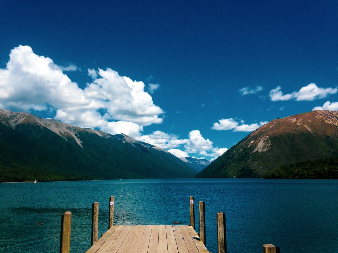 Beautiful Lakes in New Zealand - Lake Rotoiti is the perfect spot in New Zealand for a travel to take in beautiful natural scenery