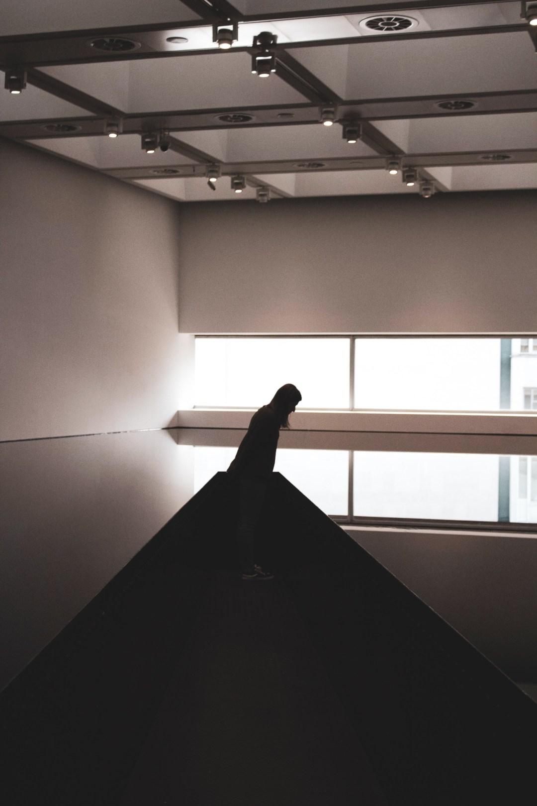 Richard Wilson's 20:50 at Hayward Gallery London