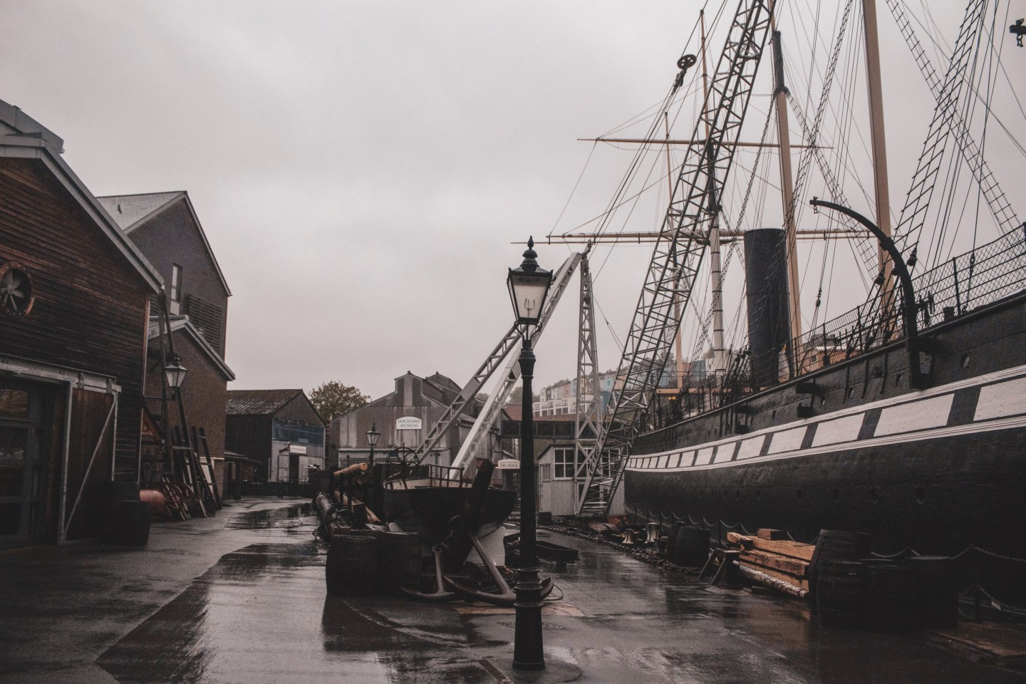 Visit Bristol In One Day Trip - Visit the SS Great Britain in Bristol's harbourside for an immersive taste of history, world exploration, and engineering!