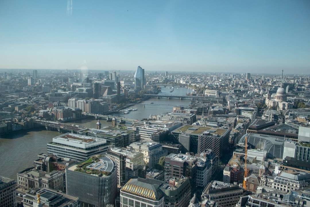 Things To Know When Moving To London - See some of the best views over London from the city skyscrapers