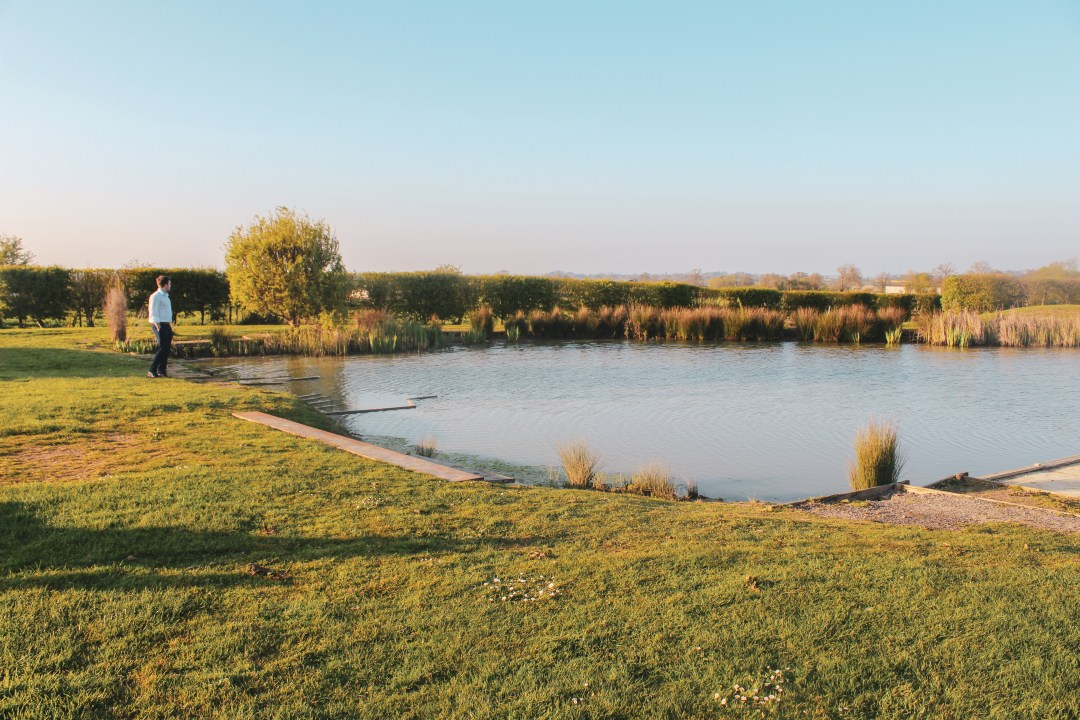 Make your dreams a reality - overlooking a pond in the English countryside to contemplate the philosophy of desire and how it impacts our actions.