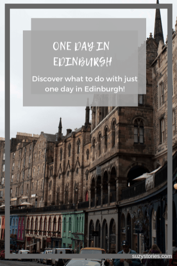 See how much can be done with one day in Edinburgh to explore historical highlights, stunning views, and beautiful architecture in the Scottish capital! Discover what to see in Edinburgh in a day with tips and tricks on accommodation, flights to Edinburgh, and more!