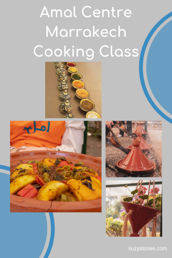 Discover the Amal cooking class in Marrakech to learn how to make delicious traditional Moroccan meals and support a non-profit organisation helping the locals!