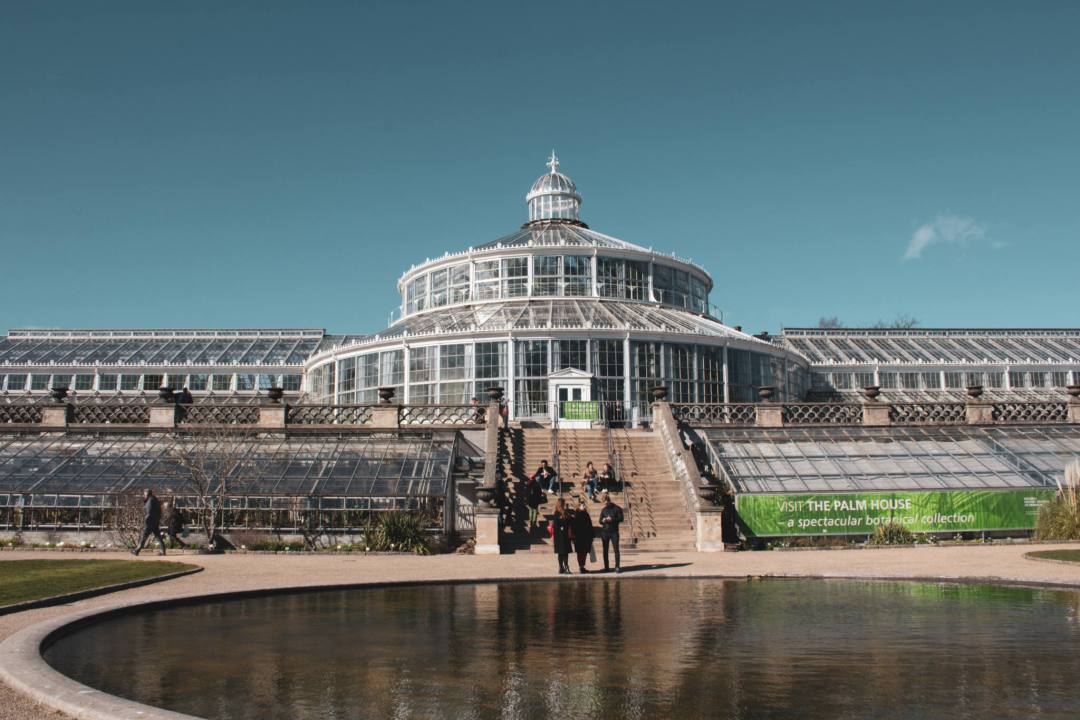 Botanical Gardens glasshouse in Copenhagen