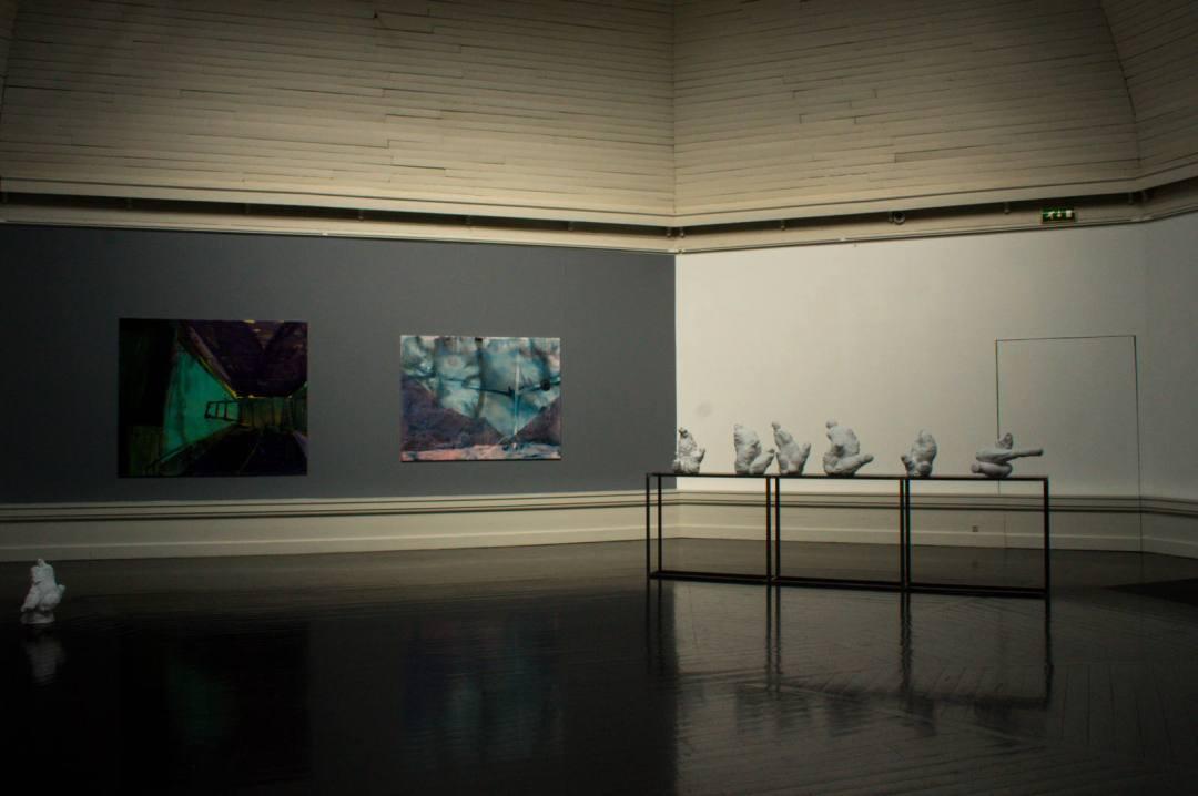 inside Den Frie art gallery in Copenhagen