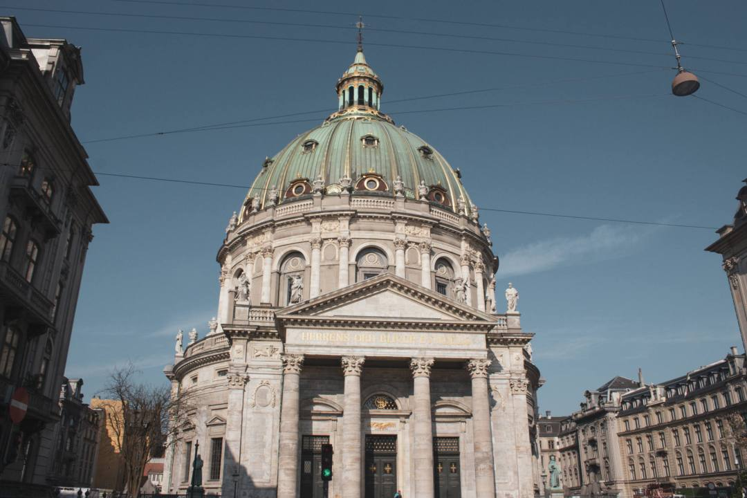 Domed church in Copenhagen