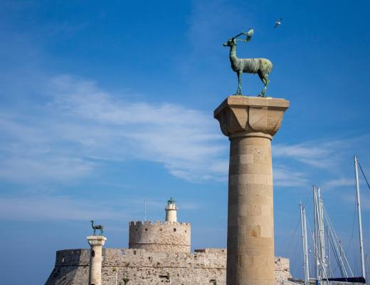 Site of the Colossus of Rhodes