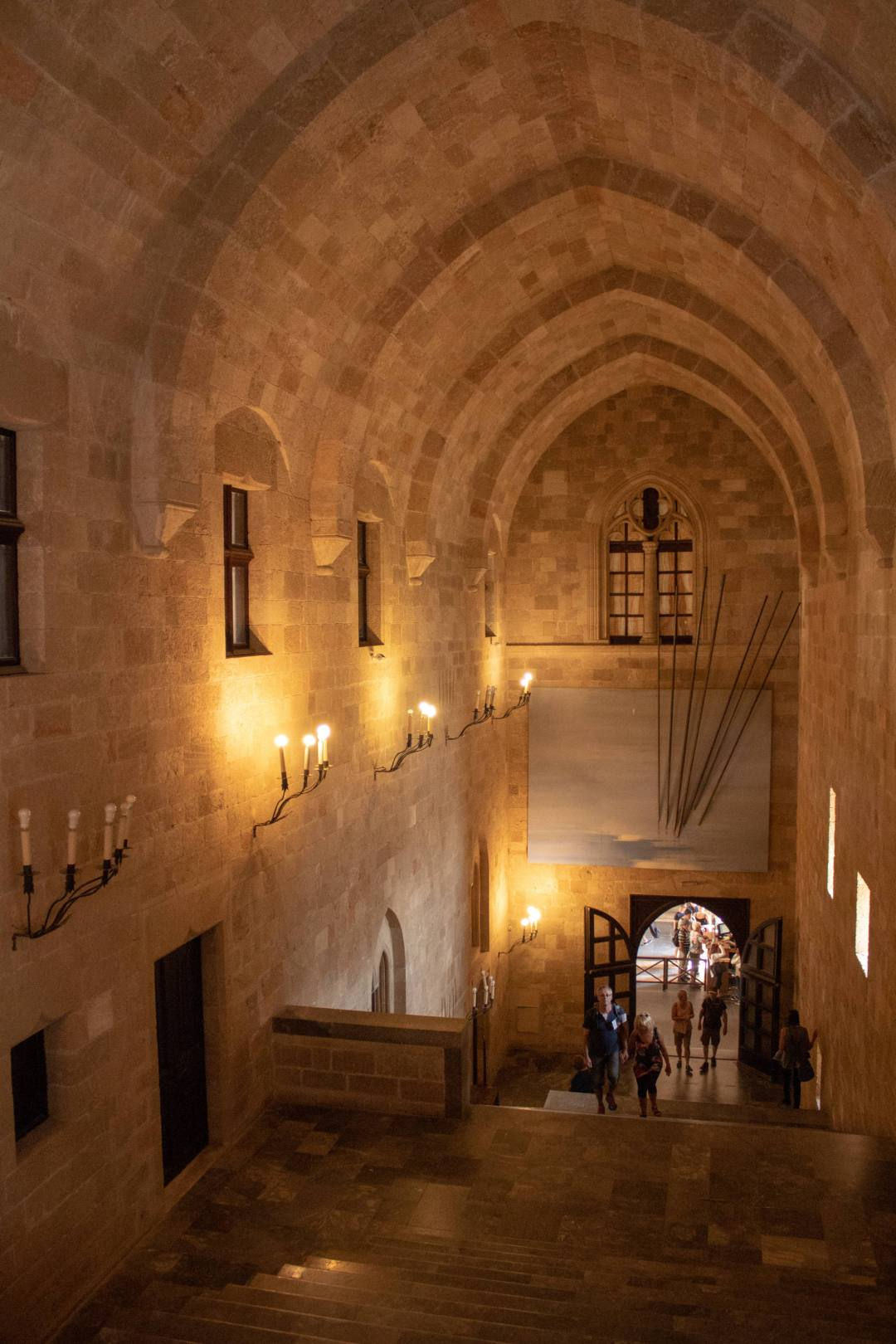 Inside the Rhodes Grand Master's Palace