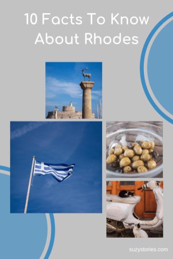 collage of Rhodes Greece photos