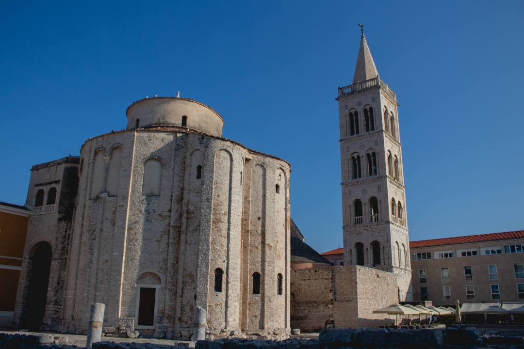Cathedral and Bell Tower in Zadar