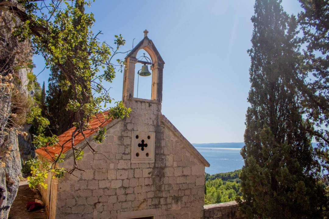 church bell overlooking split