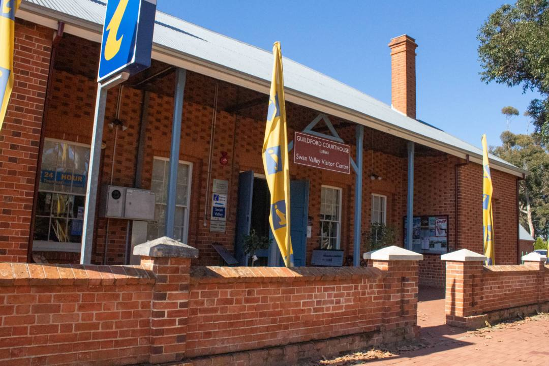 brick building in guildford WA