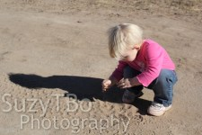 Always playing in the dirt..