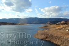 Blue Mesa Lake From Mid Bridge