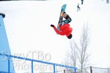 Snowboard Rail Flip Aspen X Games