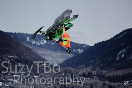 Cory Davis Backflip Aspen X Games