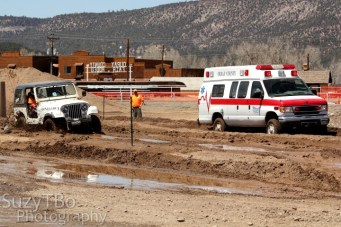 Ouray Mud Fest 2013 Jeep Ambulance Run