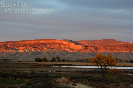 Montrose Colorado Sunset Adobes Fall