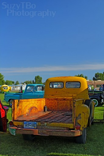 Yellow HDR Truck
