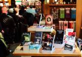 The Fountain, displayed with other amazing books at Owl's Nest Books