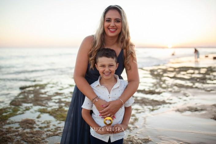 sessao de familia na praia