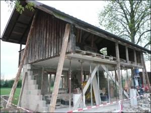 24 Bau Altes Häusle 2009