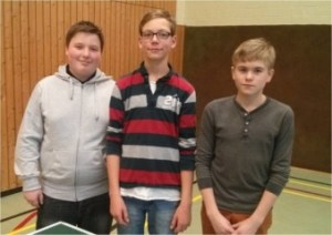 v. l. n. r.: Philip Ullerich, Nils Ole Köhler & Jan-Luca Neumann