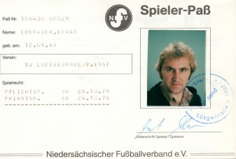 Wolfgang Hinz - Spielerpass_Eberwien_Ernst_SVL