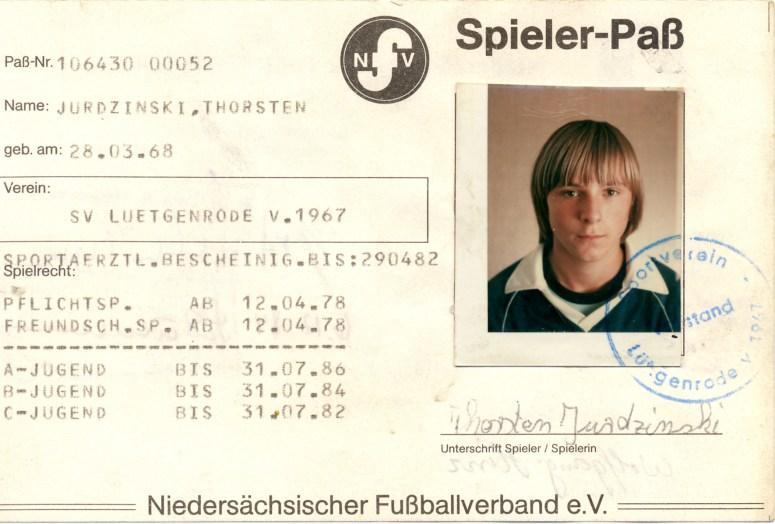 Wolfgang Hinz - Spielerpass_Jurdzinski_Thorsten_SVL