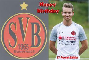 Pascal Köhler @Happy Birthday