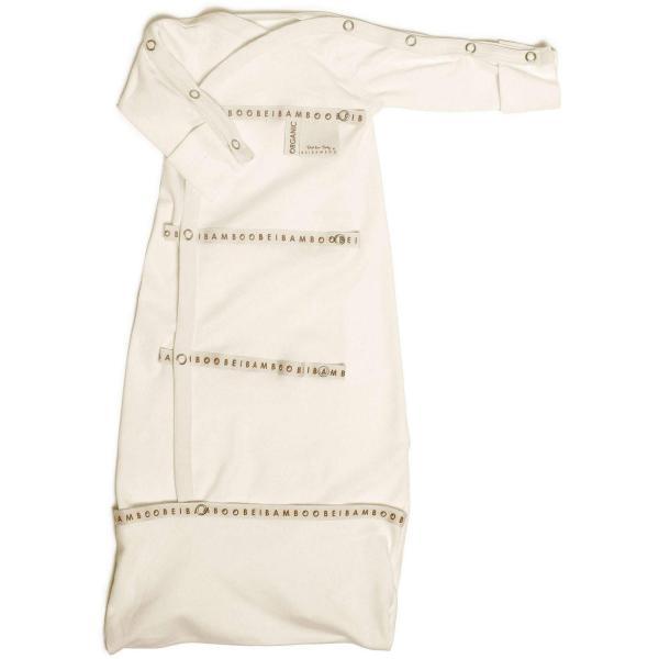 soft white bamboo organic baby Sleep pod clothing