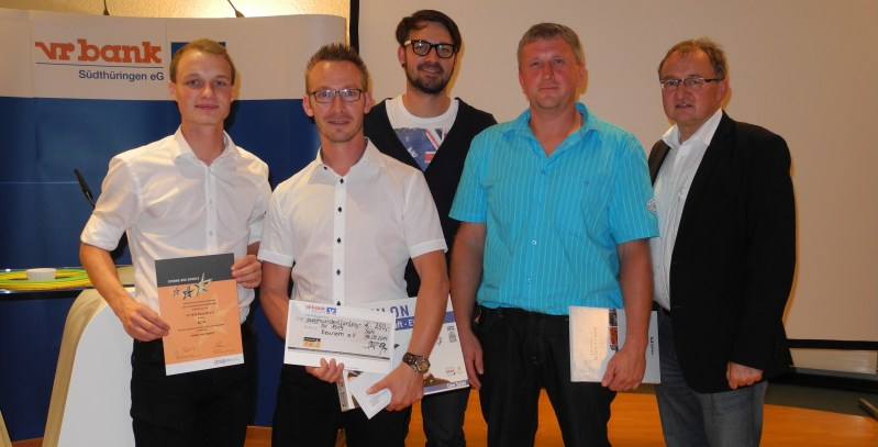 v.l.: Matty Wiener, Steven Marbach, Alexander Wolf, Nico Dauer, Ulrich Hofmann
