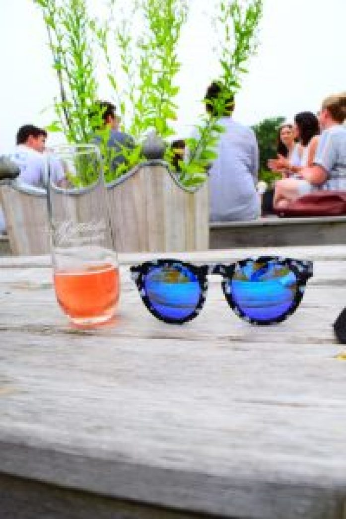 Mattebella Vineyard Long Island Wineries North Fork Blog Photography Guide to a weekend in LI New York Diff eyewear rosé wine glass sunglasses style fashion how to dress for wineries