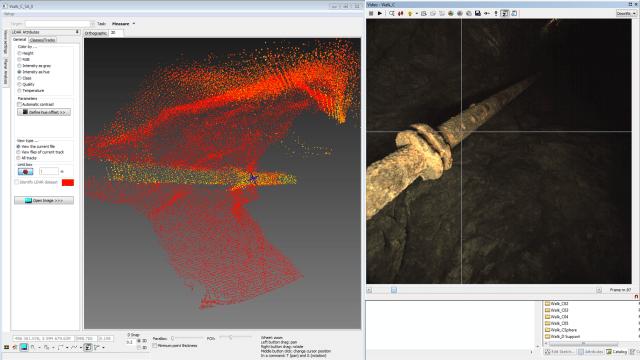 3D pontfelhő bánya