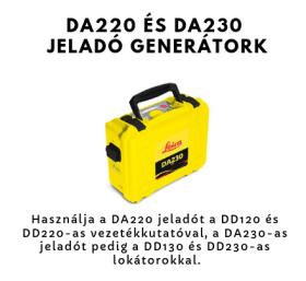 DA220 & DA230 jelgenerátor