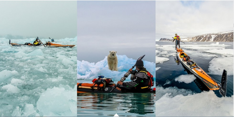 Svalbard Canoe Kayak Online Photo Essay 5