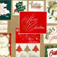 Holidays - Christmas - Cards