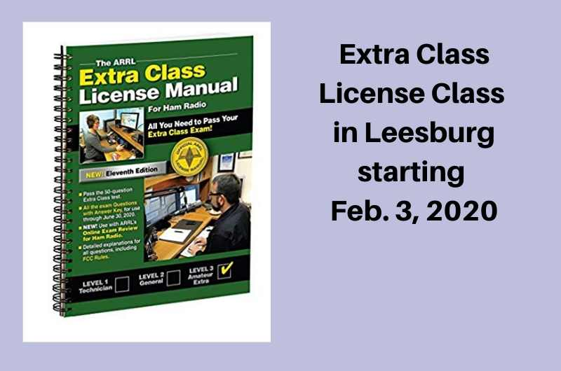 Extra Class Licensing Class To Be Offered In Area