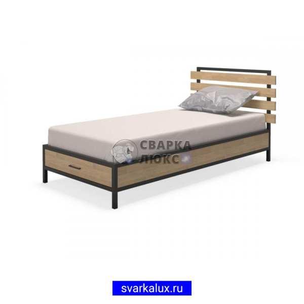 Купить кровать LOFT лофт односпальную Сварка Люкс Екатеринбург