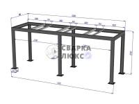 Проект Изготовление установки под еврокубы Сварка Люкс